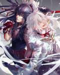 DGM - Black White by Miyukiko