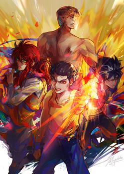 Yu Yu Hakusho - Team Urameshi