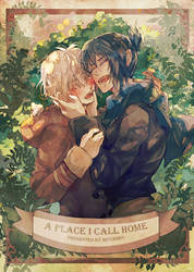 NO.6 illustration fanbook - A place I call home by Miyukiko