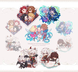 GBF Charms collection