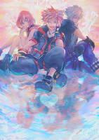 Kingdom Hearts 3 - Destiny Trio by Miyukiko