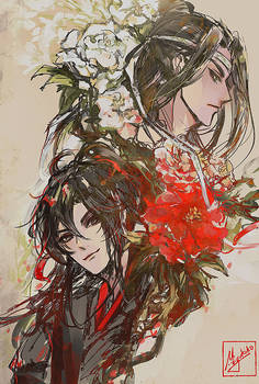 MDZS - Memories of you, dyed with a red