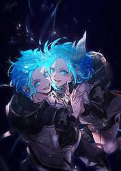 GBF - Shining Blue by Miyukiko
