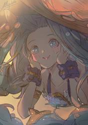 GBF- Summer Lyria by Miyukiko