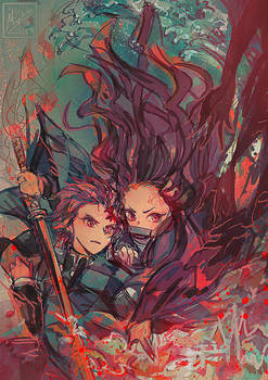 Kimetsu no Yaiba - Kamado siblings