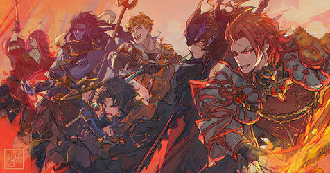 GBF - Fire Team