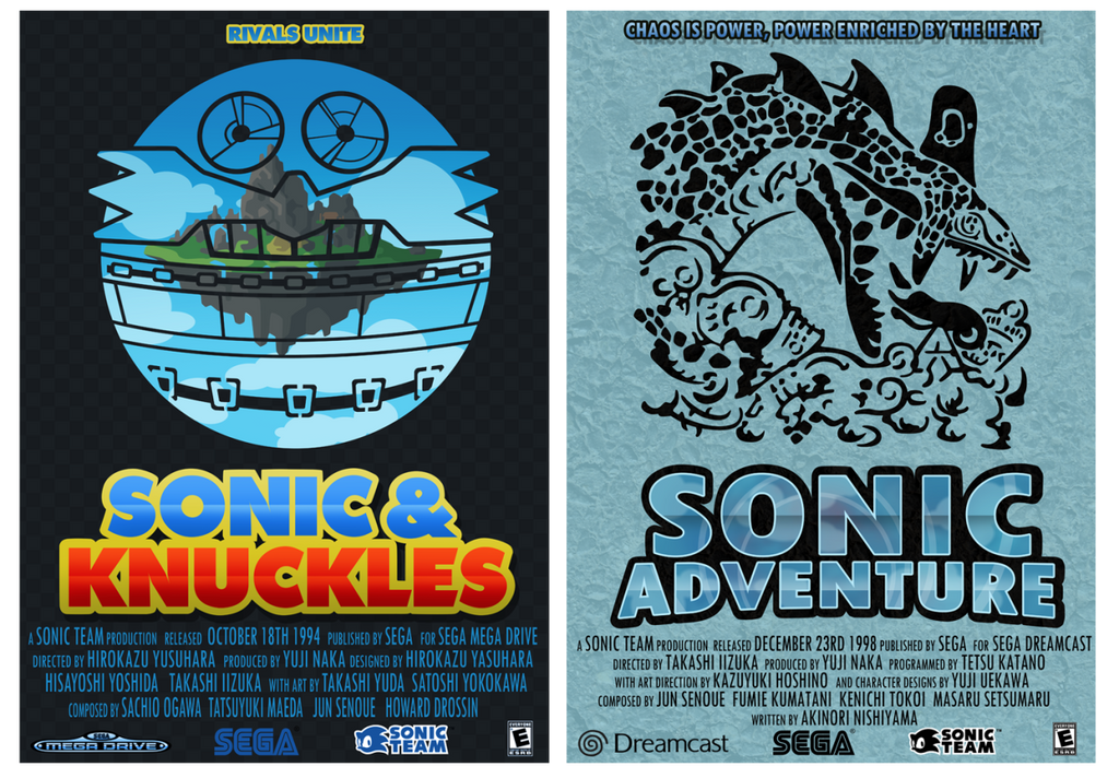 Sonic the hedgehog 25th anniversary posters by supersilver1242 on