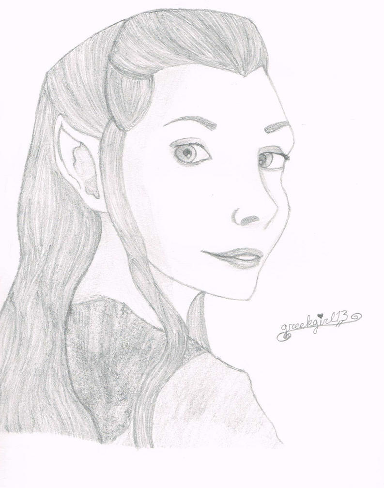 Tauriel - Hobbit: Desolation of Smaug by greekgirl13