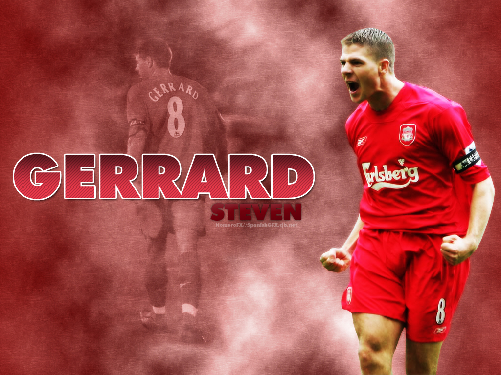 Steven Gerrard Wallpaper By Homerofx On Deviantart