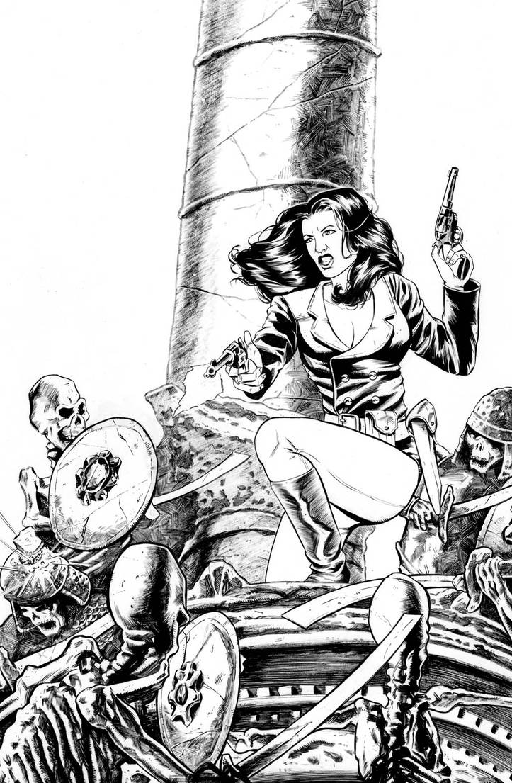 Athena Voltaire cover inks