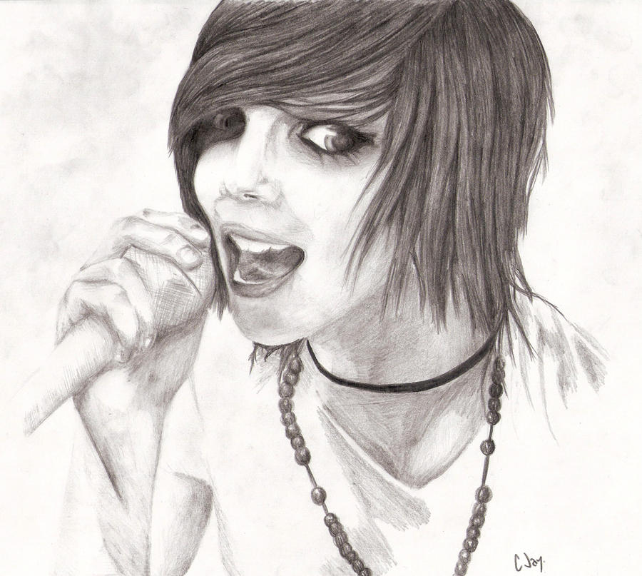 Andy Sixx 2 by xpaperstarxEasy Andy Biersack Drawing