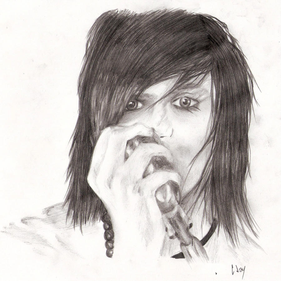 Easy Drawings Of Andy SixxEasy Andy Biersack Drawing