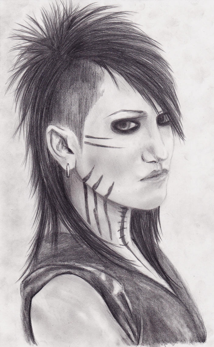 How to draw Ashley Purdy