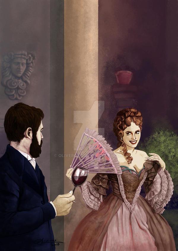 Victorian Illustration by oliveroso