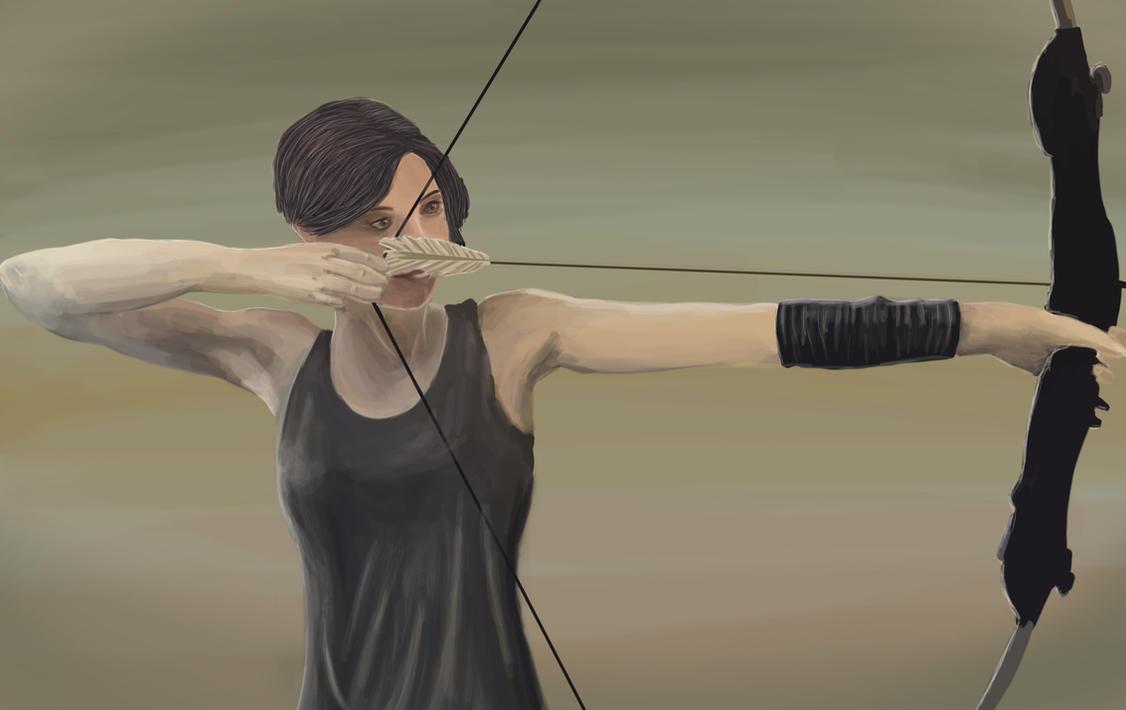 Pfeil und Bogen [Bow and Arrow] by kyl3r