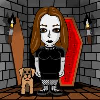 Gothtar (Myself) by IzzyJarvisRaven