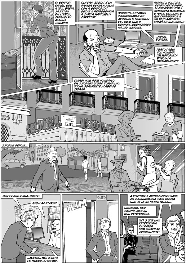 page 6 of O Centauro de Pedra by andreleal
