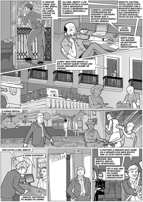 page 6 of O Centauro de Pedra by andreleal