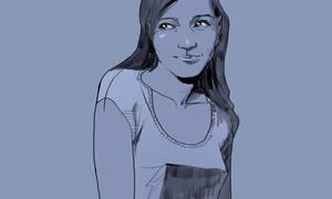 Girl watching 3