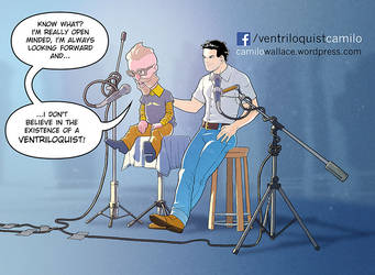 Camilo Wallace is The Ventriloquist by andreleal