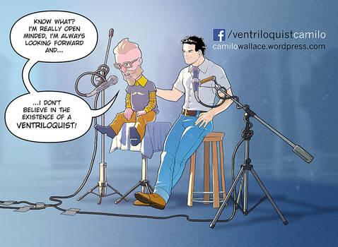 Camilo Wallace is The Ventriloquist