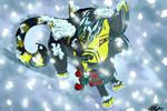 Snow squiggs n' mistletoe