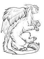 Free to use Tundra lineart by Whitefeathur