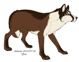 Wolf Adopt: Oaken by Whitefeathur