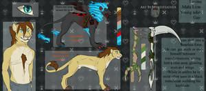 Levine - lion -  Reference by Whitefeathur