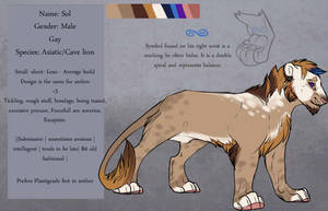 Sol - lion - reference by Whitefeathur