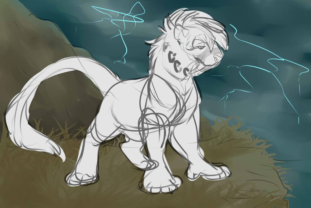 Lightning caller by Whitefeathur