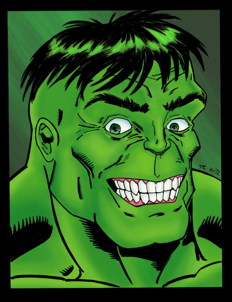 Hulk Face Color by NinjaSpidey on DeviantArt