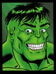 Hulk Face Color