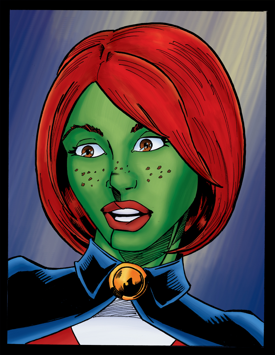 Voice Of Miss Martian / M'gann M'orzz - Young Justice ... |Miss Martian Human Form