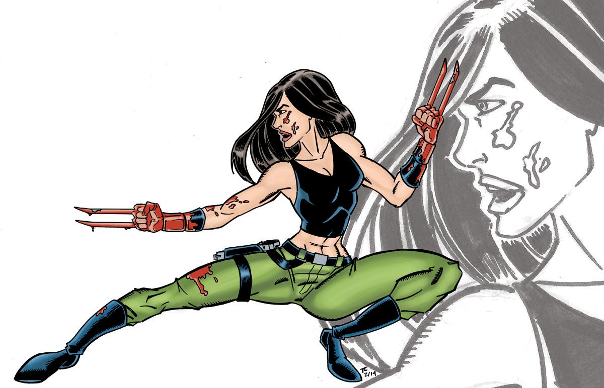 X-23 Color by NinjaSpidey