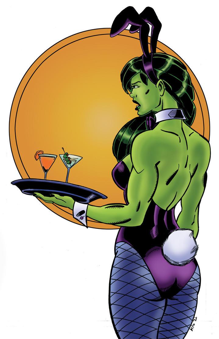 She Hulk Bunny by NinjaSpidey