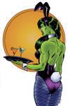 She Hulk Bunny