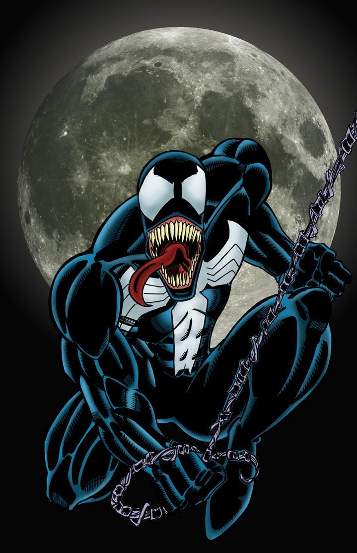 Venom Colored by NinjaSpidey