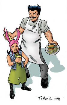Bob and Louise Belcher