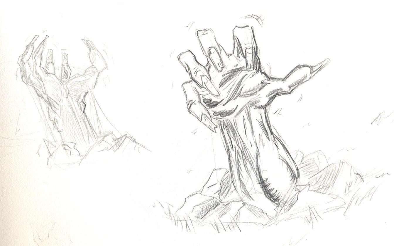 Zombie Hands by NinjaSpidey on DeviantArt