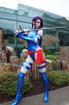 Psylocke ready for action