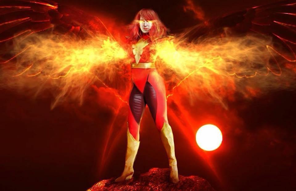 Dark Phoenix by MapleBunnie