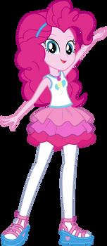 MLP: EQG Vector - Pinkie Pie (Posing) #2 by Twilirity