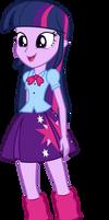 MLP: EQG Vector - Twilight Sparkle (Posing) #2