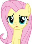 MLP: FiM Vector - Fluttershy (What) #4