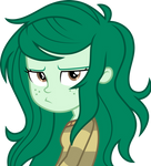 MLP: EQG Vector - Wallflower (Not Amused) #1 by Twilirity