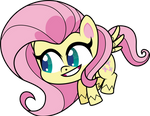 Pony Life Vector - Fluttershy (Noice) #5