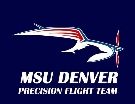 MSU Denver Precision Flight Team Logo