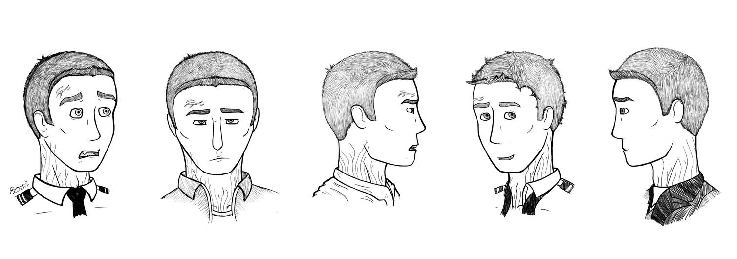 Another Character Study (More Human Practice) by