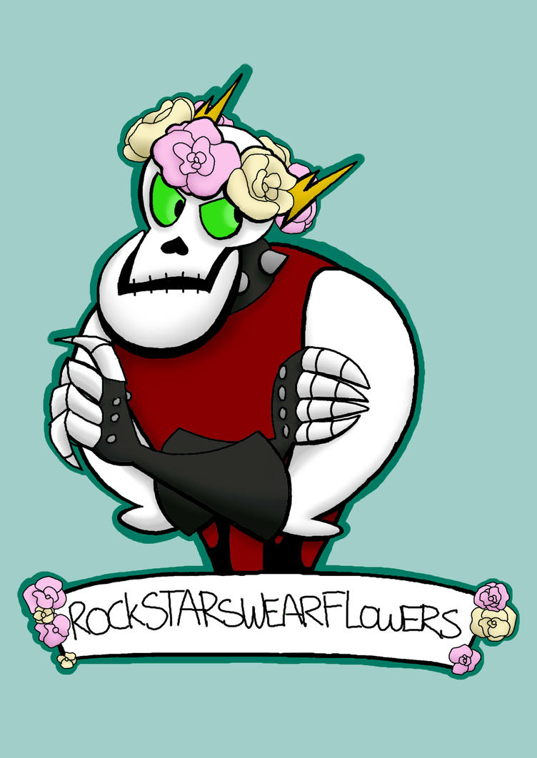 Flower crowns are for everyone by twitchiness